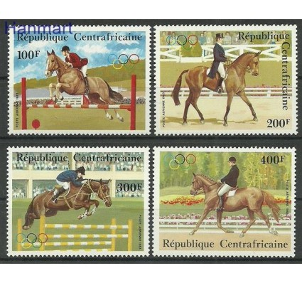 Znaczek Republika Środkowoafrykańska 1980 Mi 956-959 Czyste **