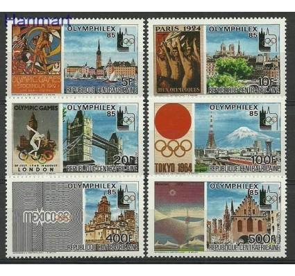 Znaczek Republika Środkowoafrykańska 1983 Mi 1107-1112 Czyste **