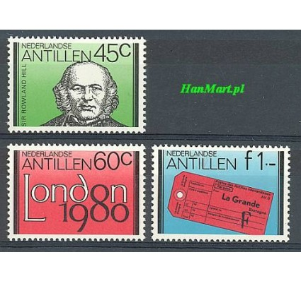 Znaczek Antyle Holenderskie 1980 Mi 419-421 Czyste **