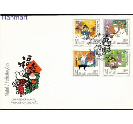 Znaczek Makau 1991 Mi 686-689 FDC