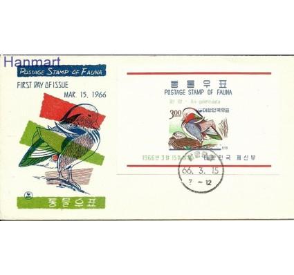 Znaczek Korea Południowa 1966 Mi bl 224 FDC
