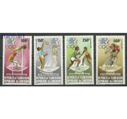 Znaczek Kamerun 1984 Mi 1055-1058 Czyste **