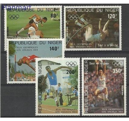 Znaczek Niger 1984 Mi 876-880 Czyste **