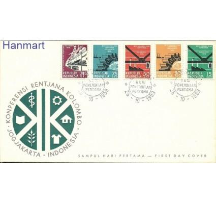 Znaczek Indonezja 1959 FDC