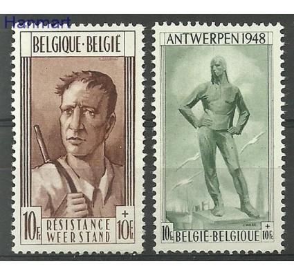Znaczek Belgia 1948 Mi 828-829 Czyste **