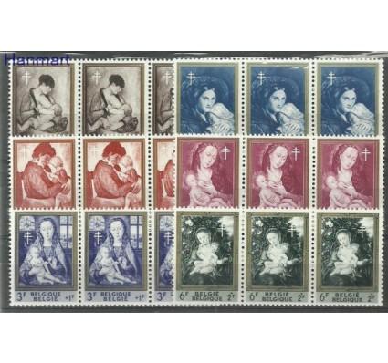Znaczek Belgia 1961 Mi 1258-1263 Czyste **