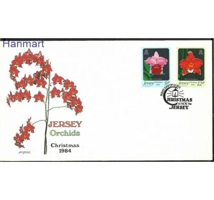 Znaczek Jersey 1984 Mi 340-341 FDC