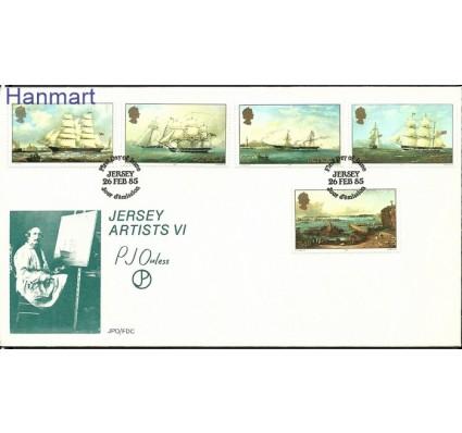 Znaczek Jersey 1985 Mi 342-346 FDC