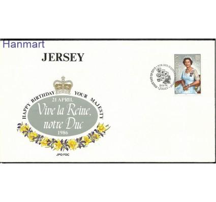 Znaczek Jersey 1986 Mi 377 FDC