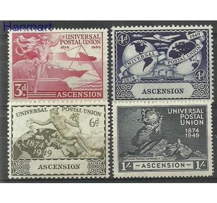 Znaczek Wyspa Wniebowstąpienia 1949 Mi 57-60 Z podlepką *