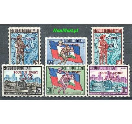 Znaczek Haiti 1959 Mi 586-591 Czyste **