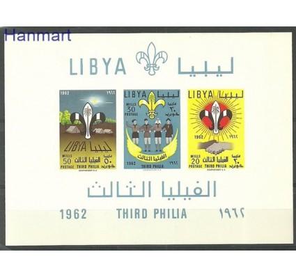 Znaczek Libia 1962 Mi bl 4 Czyste **