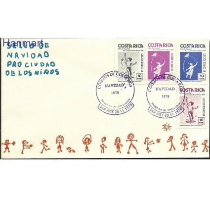 Znaczek Kostaryka 1978 Mi 81-84 FDC