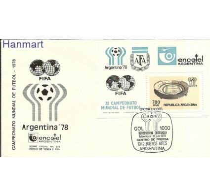 Znaczek Argentyna 1978 Mi bl 20 FDC