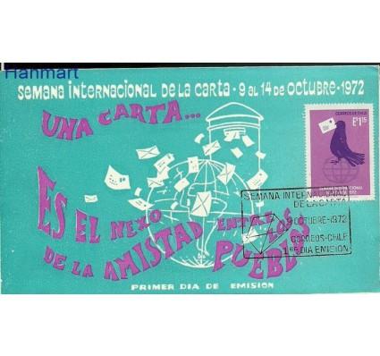 Znaczek Chile 1972 Mi 781 FDC