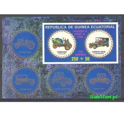 Gwinea Równikowa 1976 Mi bl 229 Czyste **