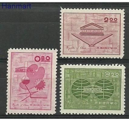 Znaczek Tajwan 1962 Mi 467-469 Czyste **