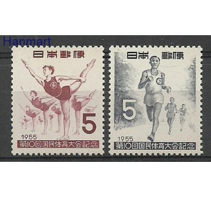 Znaczek Japonia 1955 Mi 646-647 Czyste **