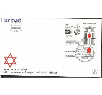 Znaczek Izrael 1980 Mi 819-820 FDC