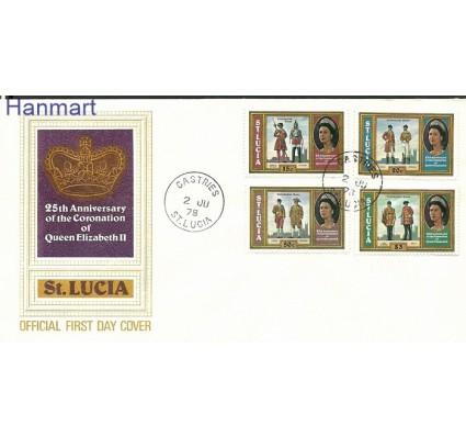 Znaczek Saint Lucia 1978 Mi 436-439 FDC