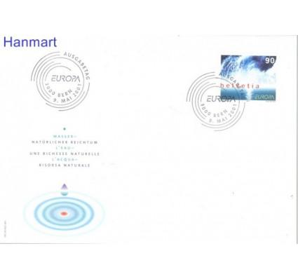 Znaczek Szwajcaria 2001 Mi 1757 FDC
