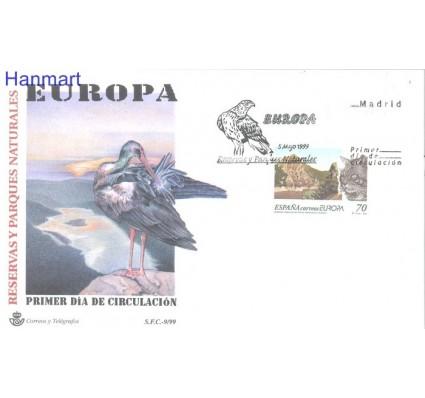 Znaczek Hiszpania 1999 Mi 3462 FDC