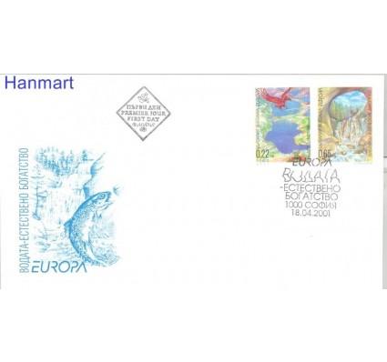 Znaczek Bułgaria 2001 Mi 4512-4513 FDC