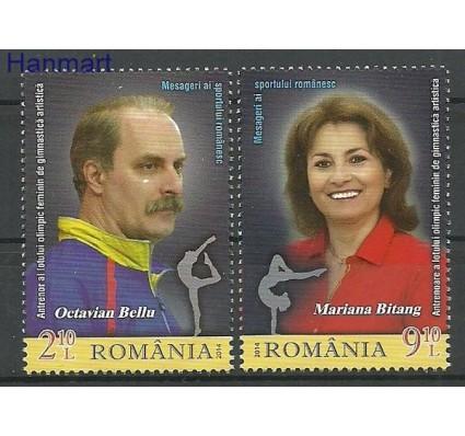 Znaczek Rumunia 2014 Mi 6830-6831 Czyste **