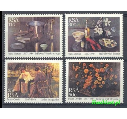 Znaczek Republika Południowej Afryki 1985 Mi 665-668 Czyste **