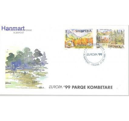 Znaczek Albania 1999 Mi 2690-2691 FDC