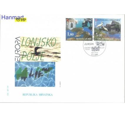 Znaczek Chorwacja 1999 Mi 498-499 FDC