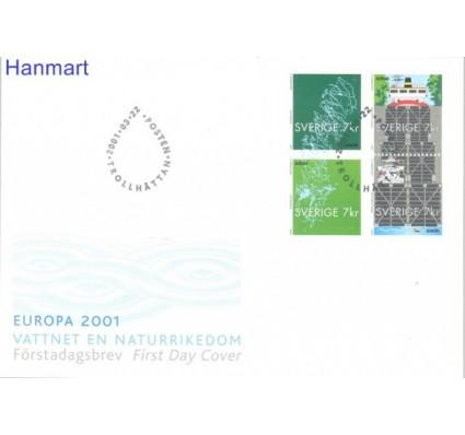 Znaczek Szwecja 2001 Mi 2232-2235 FDC