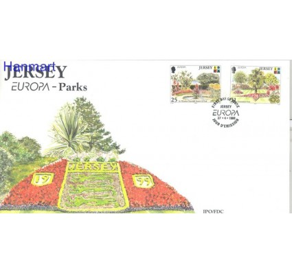 Znaczek Jersey 1999 Mi 885-886 FDC