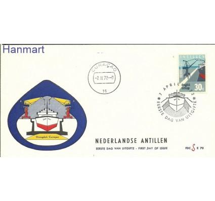 Znaczek Antyle Holenderskie 1972 FDC
