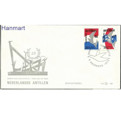 Znaczek Antyle Holenderskie 1979 FDC