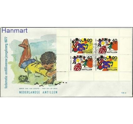 Znaczek Antyle Holenderskie 1977 FDC