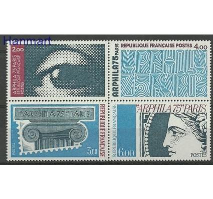 Znaczek Francja 1975 Mi 1923-1926 Czyste **