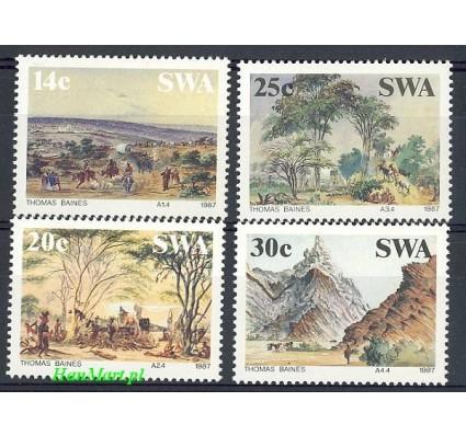 Znaczek Afryka Południowo-Zachodnia 1987 Mi 600-603 Czyste **
