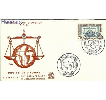 Znaczek Somali Francuskie 1963 Mi 356 FDC