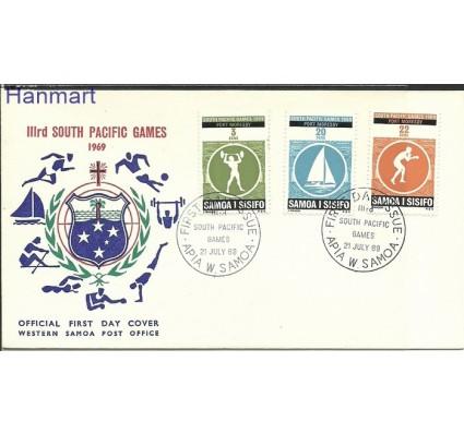 Znaczek Samoa i Sisifo 1969 Mi 201-203 FDC