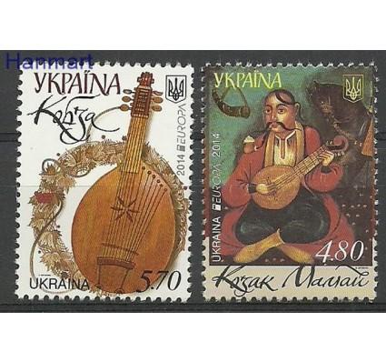 Znaczek Ukraina 2014 Mi 1418-1419 Czyste **