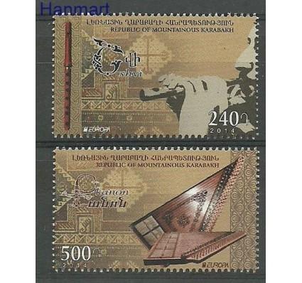 Znaczek Karabach 2014 Mi 94-95 Czyste **
