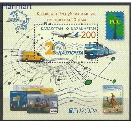 Znaczek Kazachstan 2013 Mi bl 54 Czyste **
