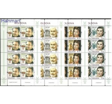 Znaczek Mołdawia 2014 Mi ark 870-873 Czyste **