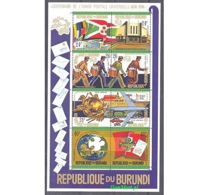 Znaczek Burundi 1974 Mi bl 80 Czyste **