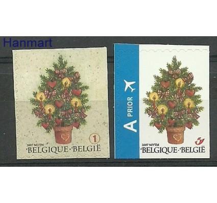 Znaczek Belgia 2007 Mi 3781BEo-3782BEu Czyste **
