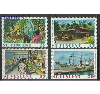 Znaczek St. Vincent 1975 Mi 402-405 Czyste **