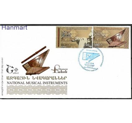 Znaczek Karabach 2014 Mi 94-95 FDC