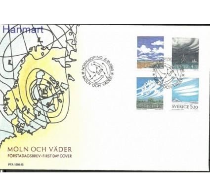 Znaczek Szwecja 1990 Mi 1633-1636 FDC