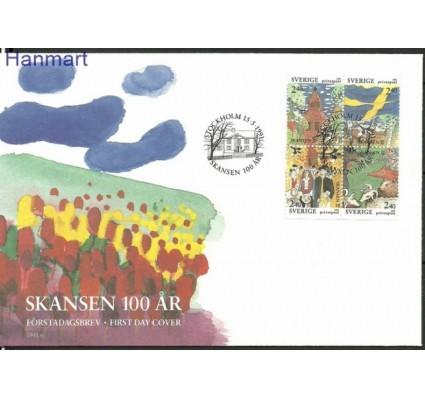 Znaczek Szwecja 1991 Mi 1668-1671 FDC